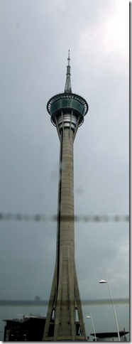That's Macau Tower - 338mts